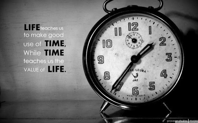 The Daily Good Vibes: Life and Time