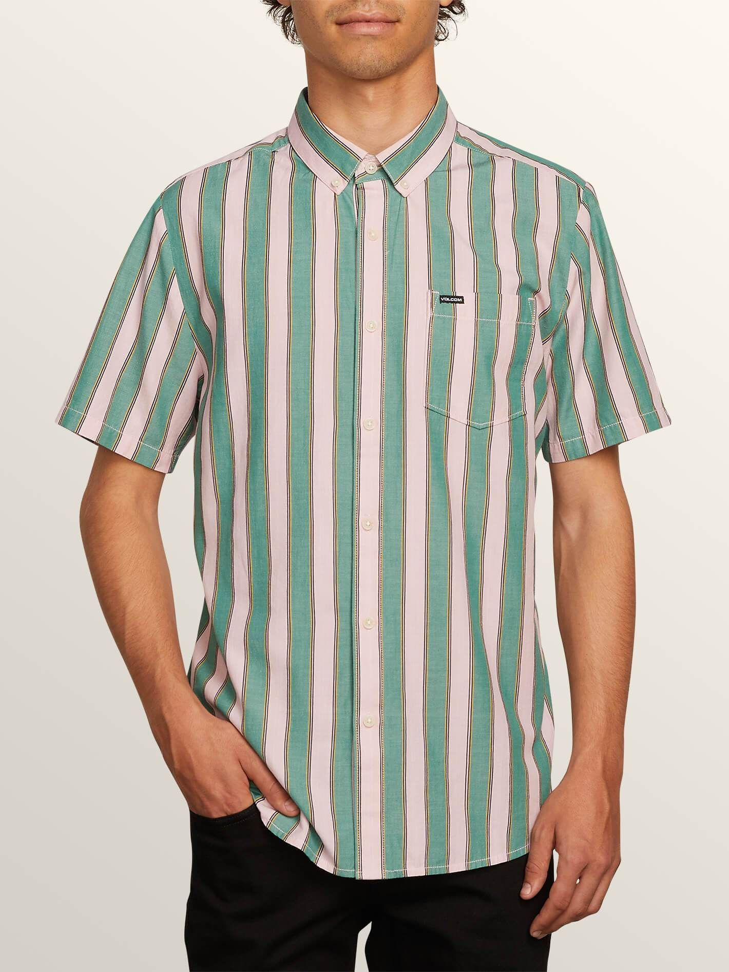 c8ff691fac05 The Bold Stripe Short Sleeve Shirt in 2019 | Products | Bold stripes ...