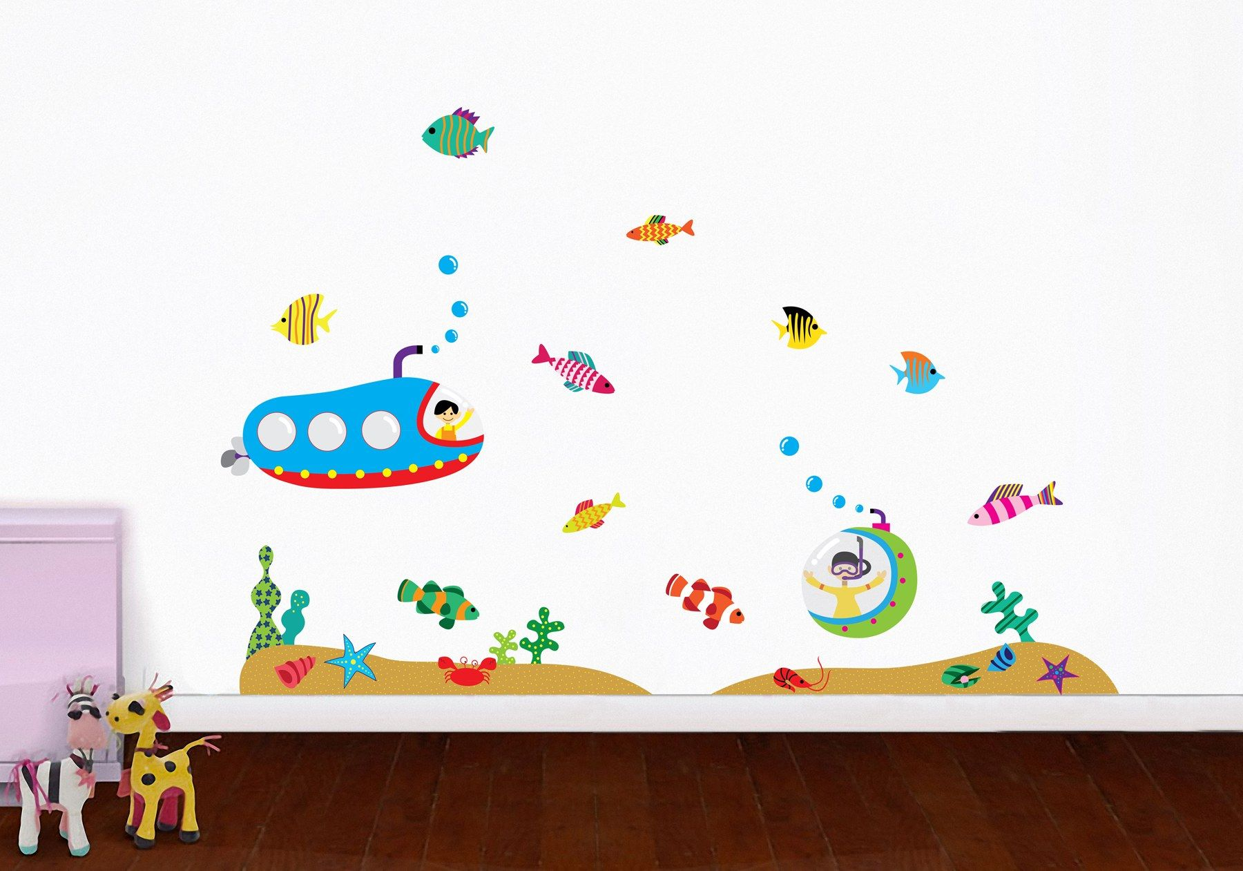 Kids Wall Decals  Great Reasons To Decorate With New Modern - Benefits of wall decals