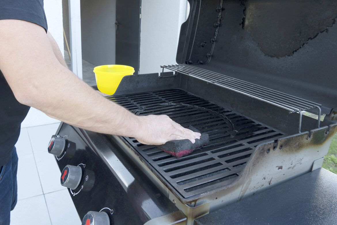 How to clean cast iron grill cleaning cast iron grill