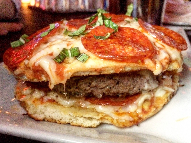 The Pizzaburger.