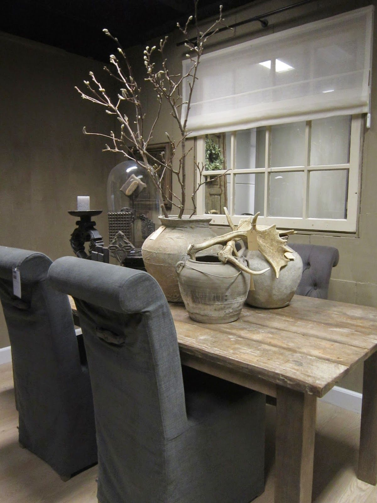 Landelijke decoratie eettafel bijzondere woondecoraties for Decoratie tafel landelijk