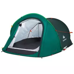 Randonnee Camp Du Randonneur Abri 2 Seconds Xl 0 Vert Tente Abri Magasin Decathlon