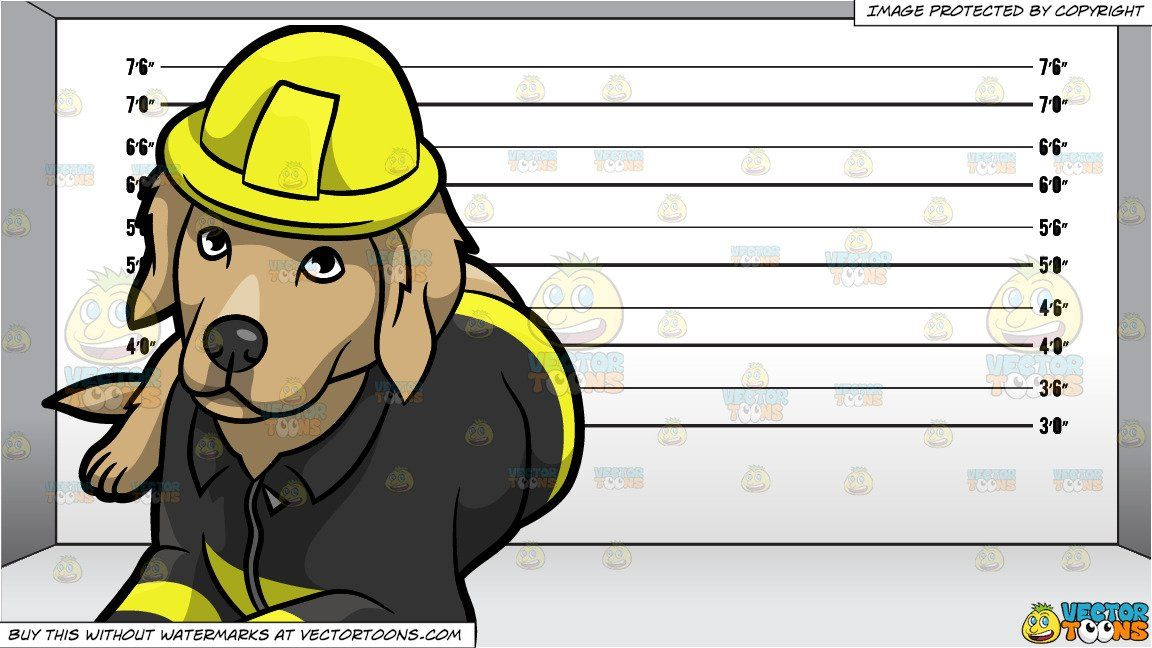 A Resting Fire Safety Dog And A Prison Line Up Background In 2021 Fire Safety Prison Grey Room