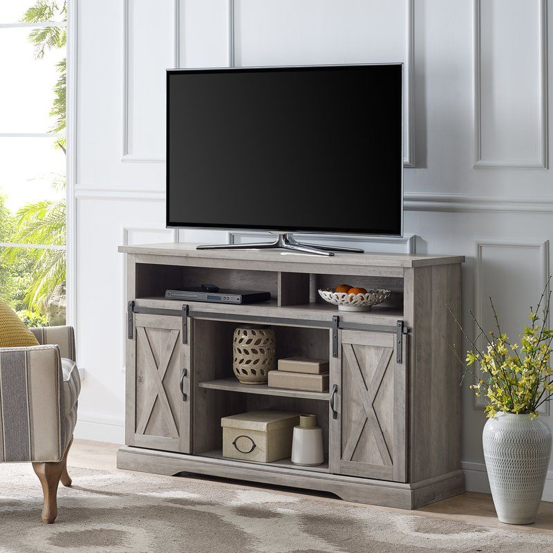 Berene Tv Stand For Tvs Up To 56 Solid Wood Tv Stand