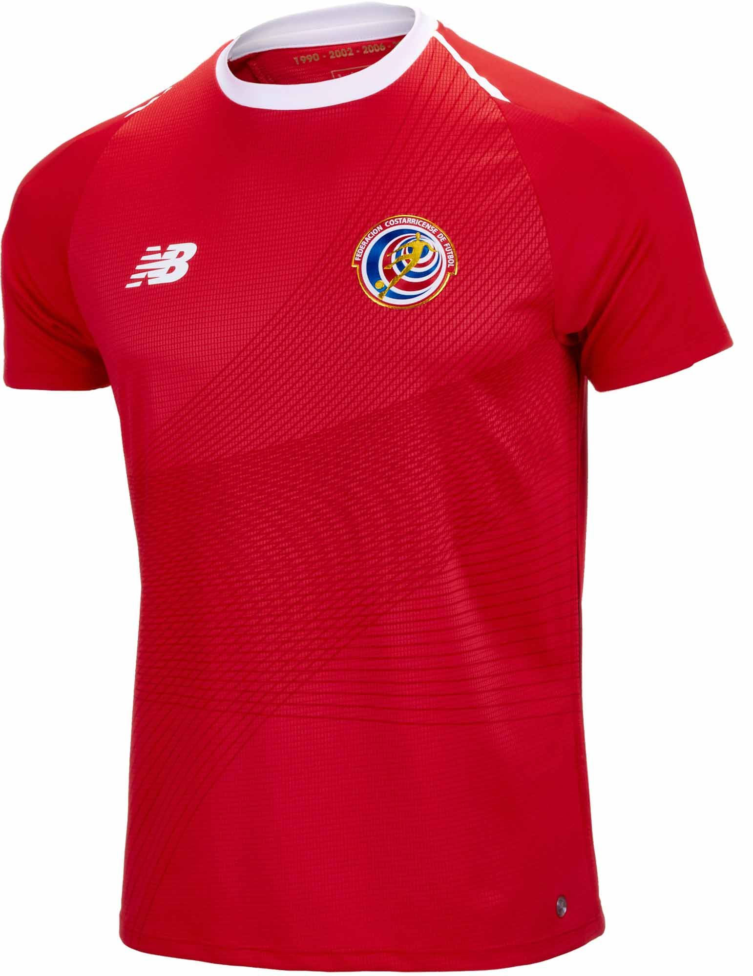 088198403df Buy the 2018 19 NB Costa Rica Home Jersey from SoccerPro.