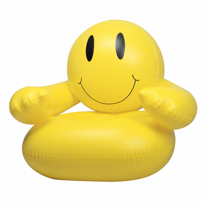 Smiley Face Inflatable Chair~
