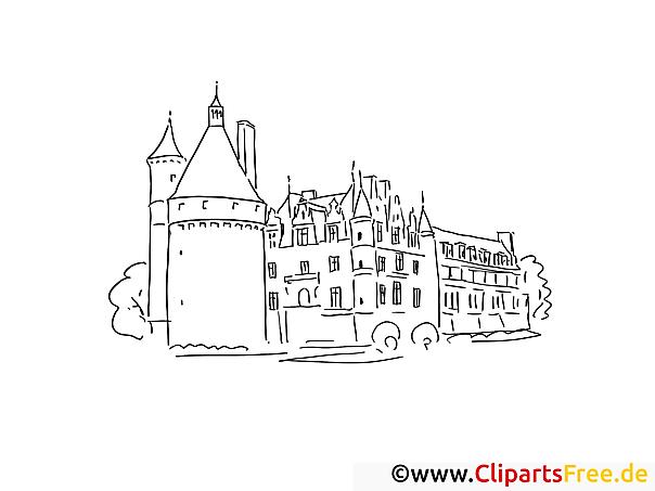 Einzigartig Ausmalbilder Schloss Färbung Malvorlagen