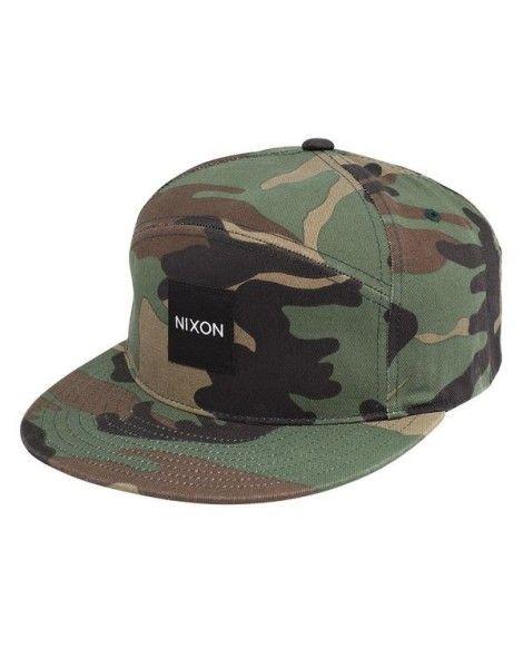 284d72dc30146 NixonCasquette camouflage Snapper Print Chapéus Camuflados