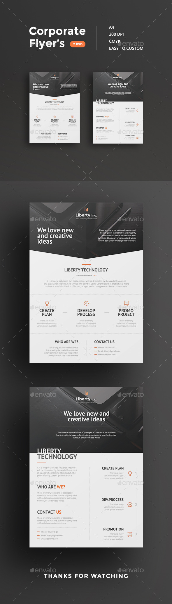 Corporate Flyers Template Psd Design Download Http