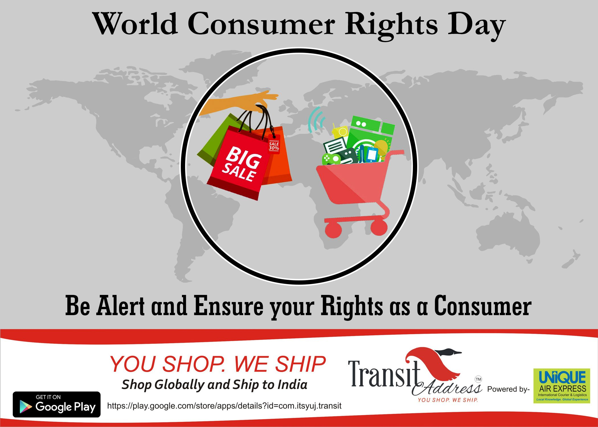 You Re Product You Re Rights Know Your Rights Don T Be Fooled Theme For World Consumer Rights Day Is Trusted Smart Produc Day World International Shopping