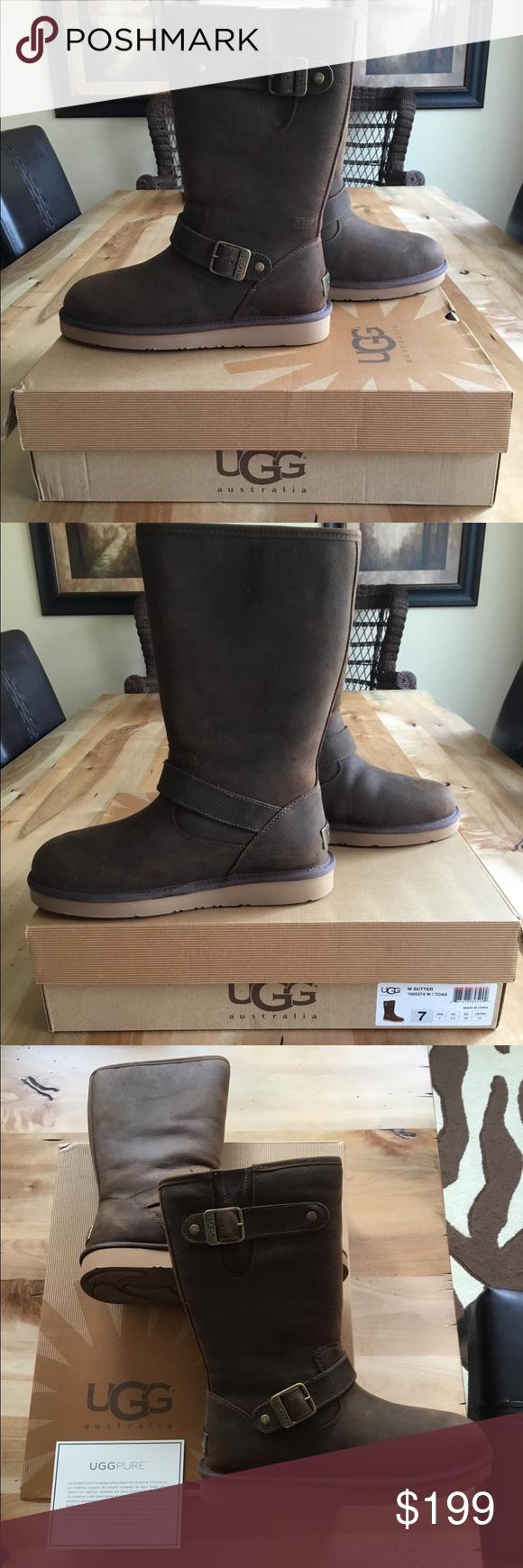 46e8ecffd25 NWT UGG Sutter Boots NWT | My Posh Picks | Pinterest | Ugg shoes ...
