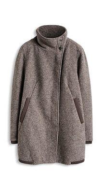 Esprit Mantel Mit Asymmetrischer Front пальто Pinterest