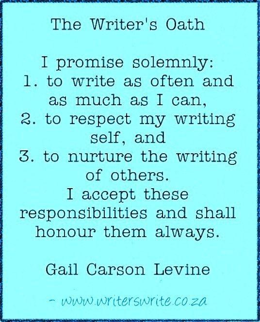 Quotable - Gail Carson Levine - Writers Write Creative Blog