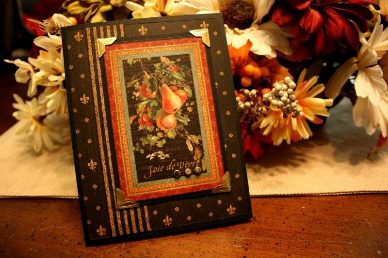 joy of living joie de vivre by beckysclubhouse cards and paper