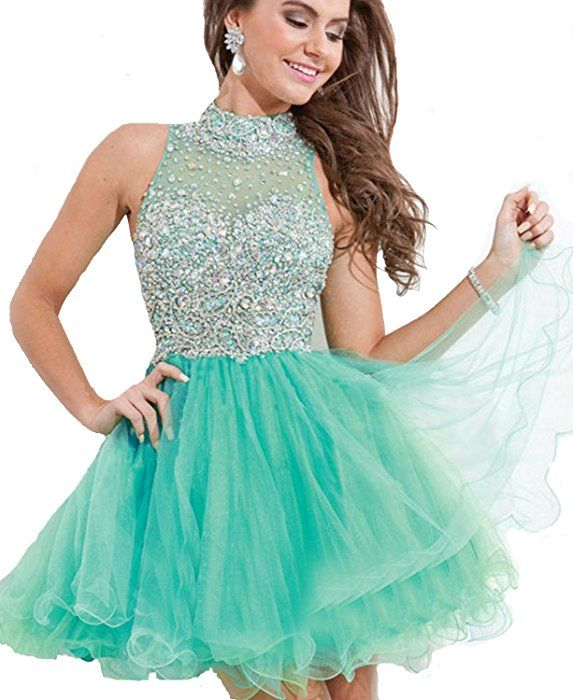 Short Sparkly Homecoming Dresses