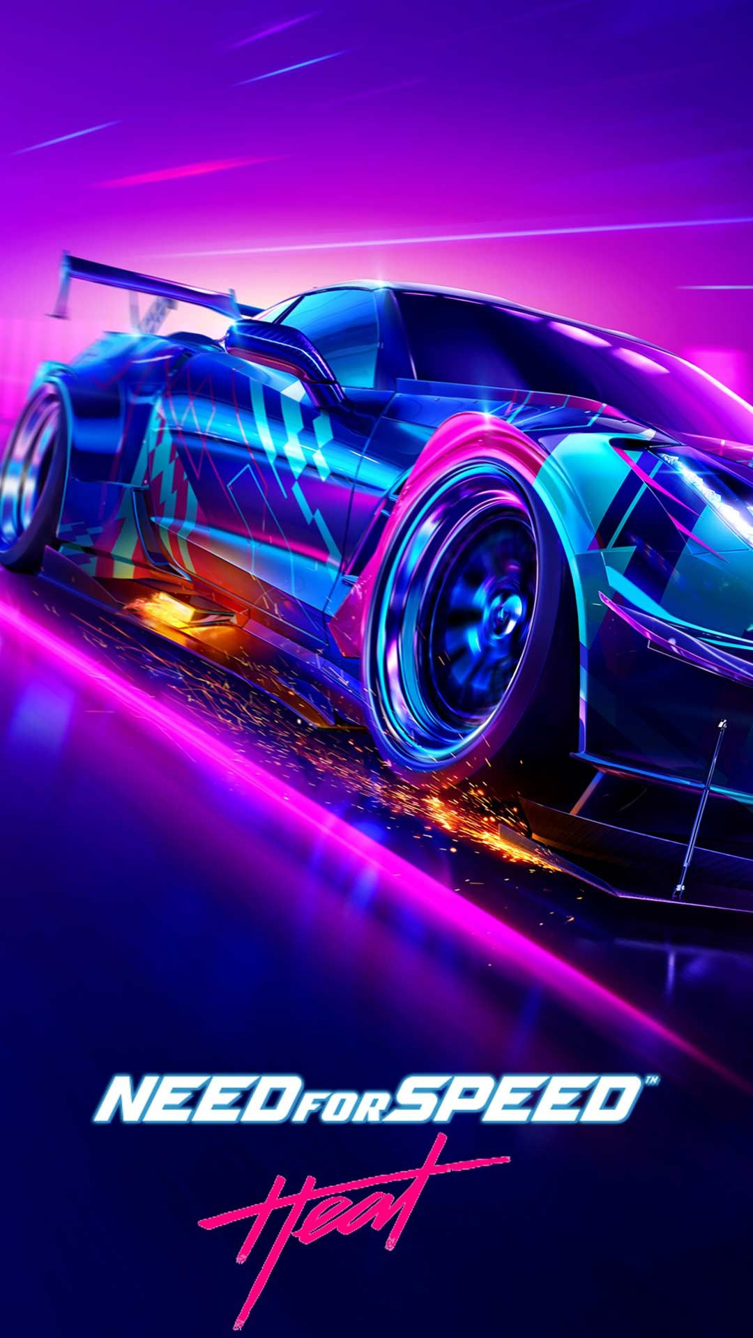 Need For Speed Heat Wallpaper Hd Phone Backgrounds Cars Poster Art On Iphone Android Lock Screen In 2020 Hd Phone