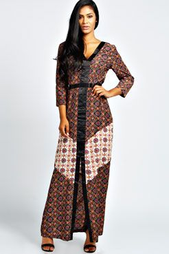 cae4bceb725f Oliva Woven Boho Maxi Dress at boohoo.com I love Bohemians clothes ...
