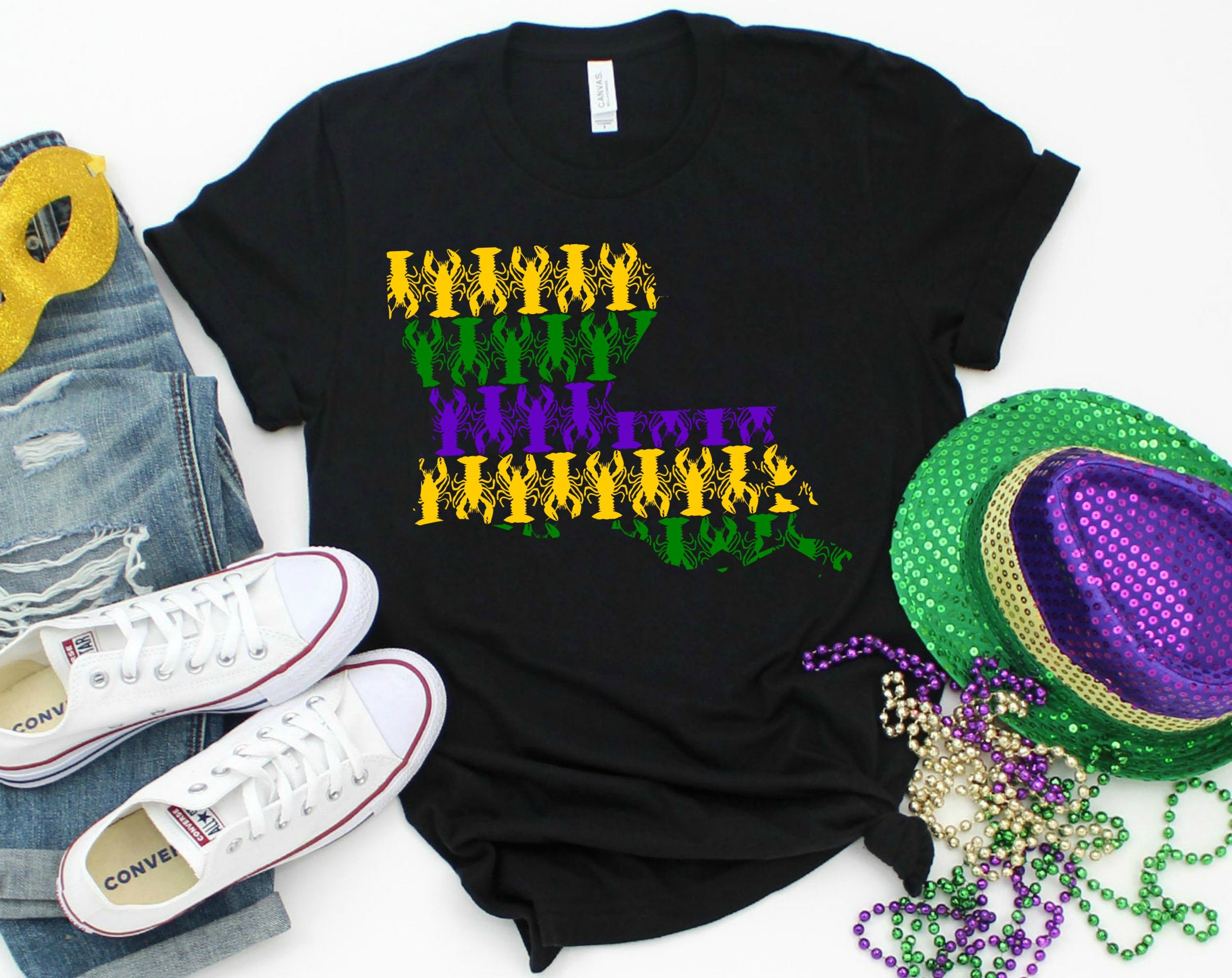 Got Beads Mardi Gras New Orleans Fat Tuesday Louisiana Juniors V-neck T-shirt
