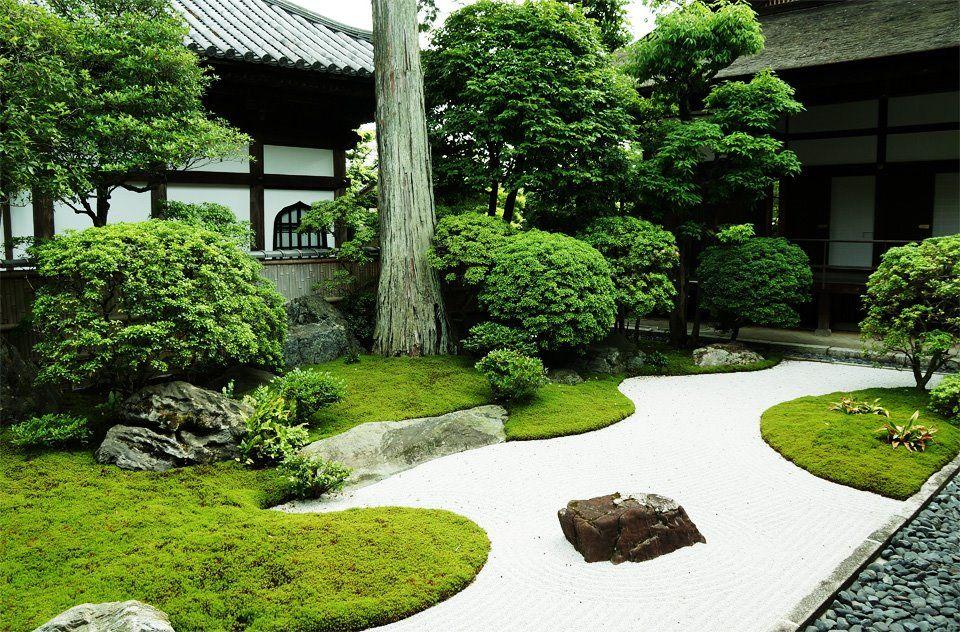 Daishin In Temple Garden Japanese Garden Design Modern