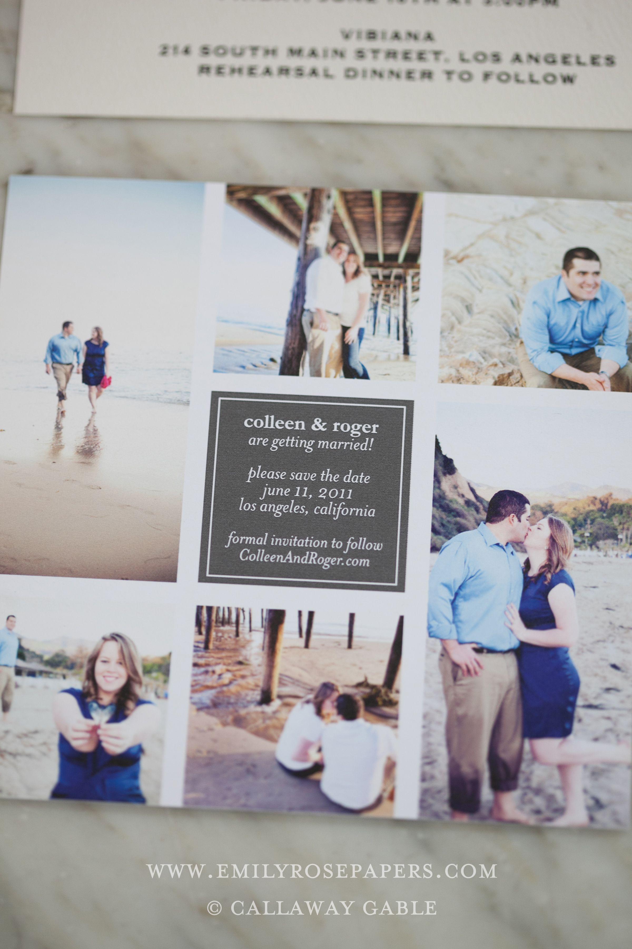 handmade wedding invitations photographs callaway gable ideas