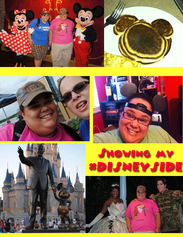 Wordless Wednesday- #DisneySide