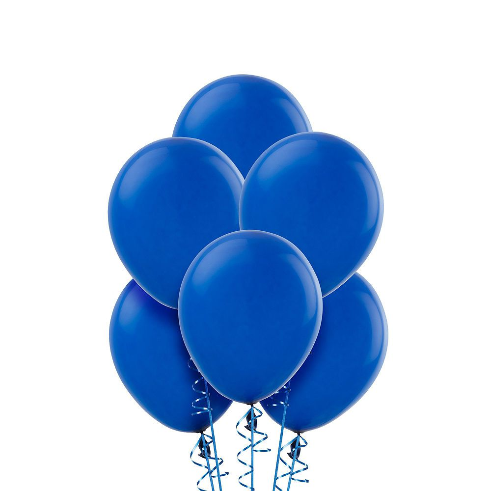 Royal Blue Balloons 20ct Image 1
