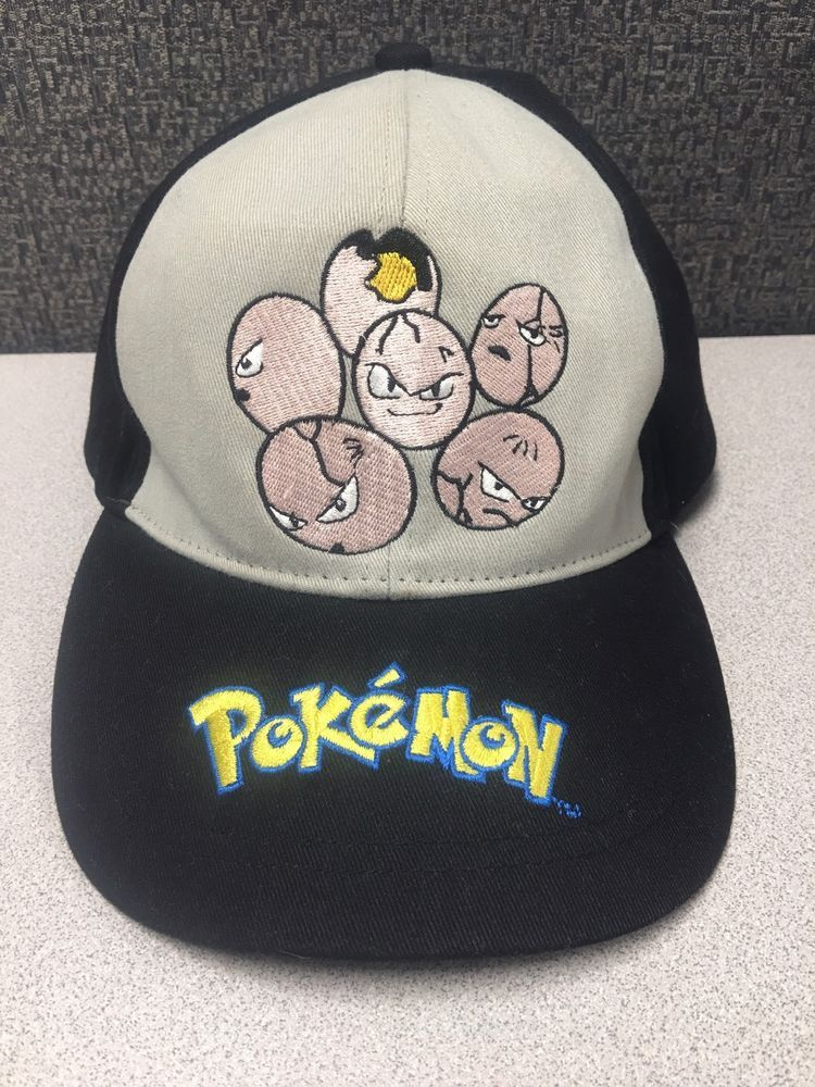 56f6d258ed1 Pokemon Exeggcute 105 Hat Youth Adjustable Nintendo Game Freak Vtg 2000  RARE