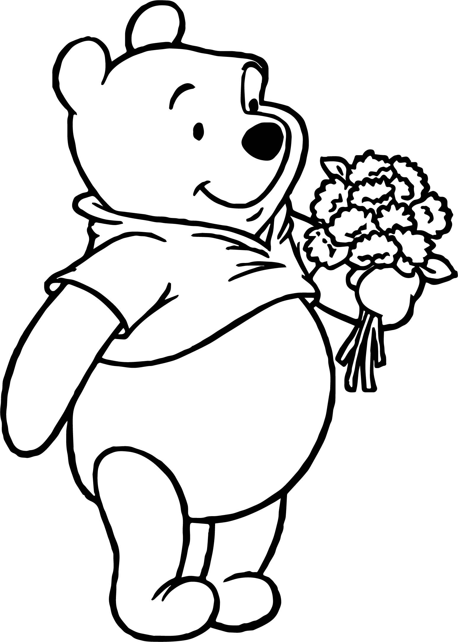Winnie the Pooh Coloring Pages Cute coloring pages