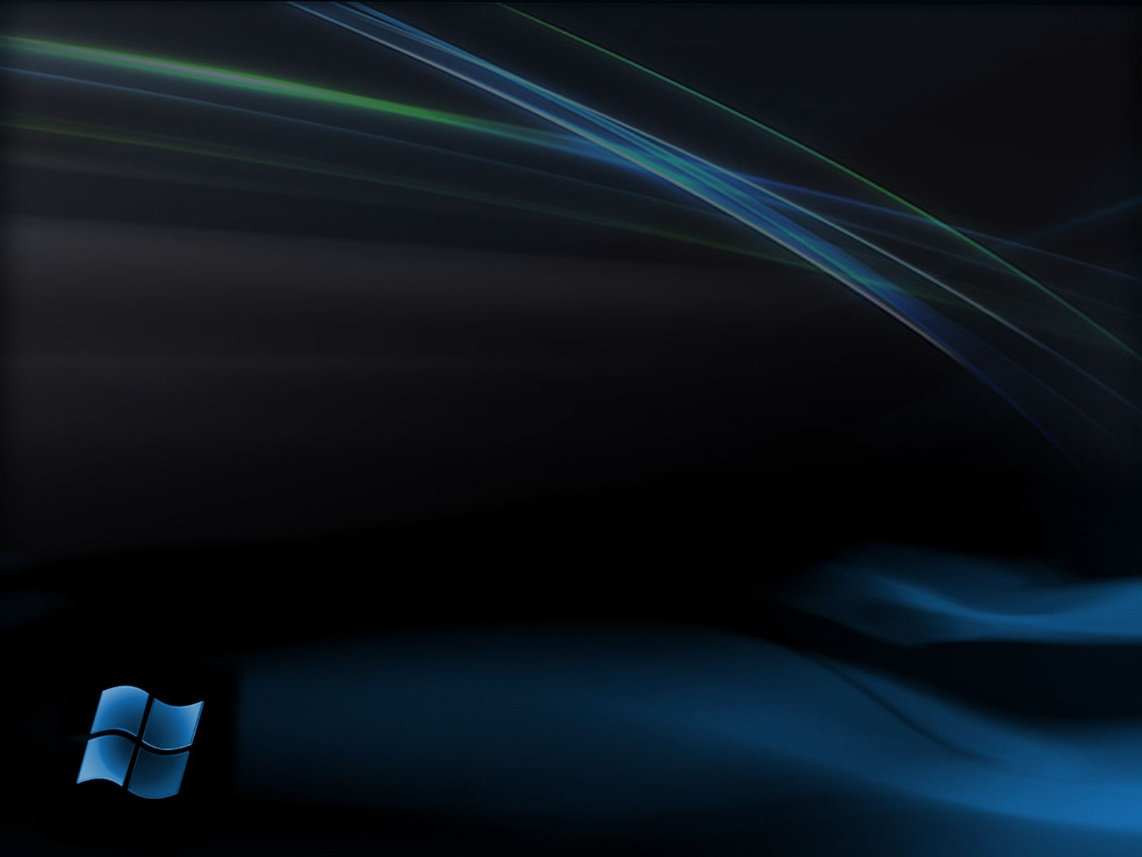 windows 7 ultimate bright black hd desktop wallpaper : widescreen