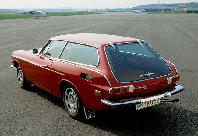The Volvo P1800 (shown here in wagon ES form) is something of an oddball from a design standpoint. Not really a stunner (and arguably fussy / overwrought in places) it's always had a rabid following in classic car and design circles. Penned in Italy with vestigal fins and chrome trim overload, the P1800 has an inviting, unmistakable Volvo-ness about it that's somehow hard to resist. And then there's that huge glass tailgate, a bold move in 1972 that's been beautifully recycled for today's…