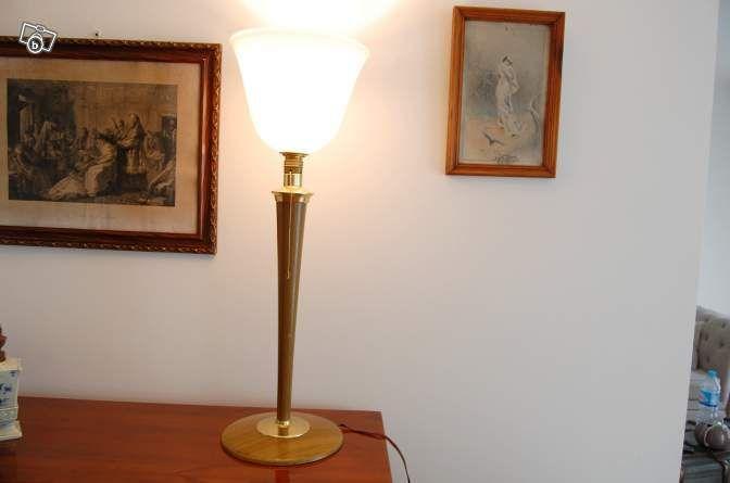 Lampe tulipe art deco mazda Décoration Paris - leboncoinfr Home