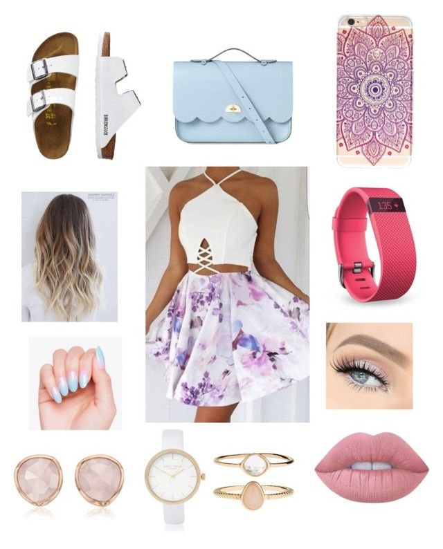 """summer fashion"" by leylajune on Polyvore featuring TravelSmith, The Cambridge Satchel Company, Fitbit, Lime Crime, Accessorize, River Island and Monica Vinader"