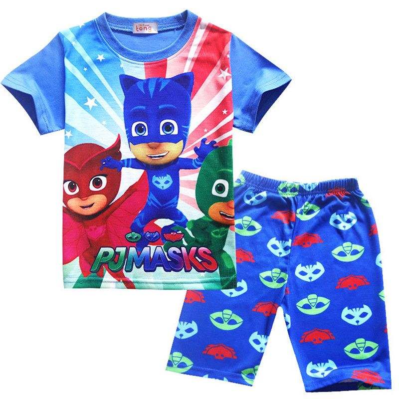 baa583f1b8fd Click to Buy    3-8T Boys Cartoon Sets 2017 Summer Kid Clothes T ...