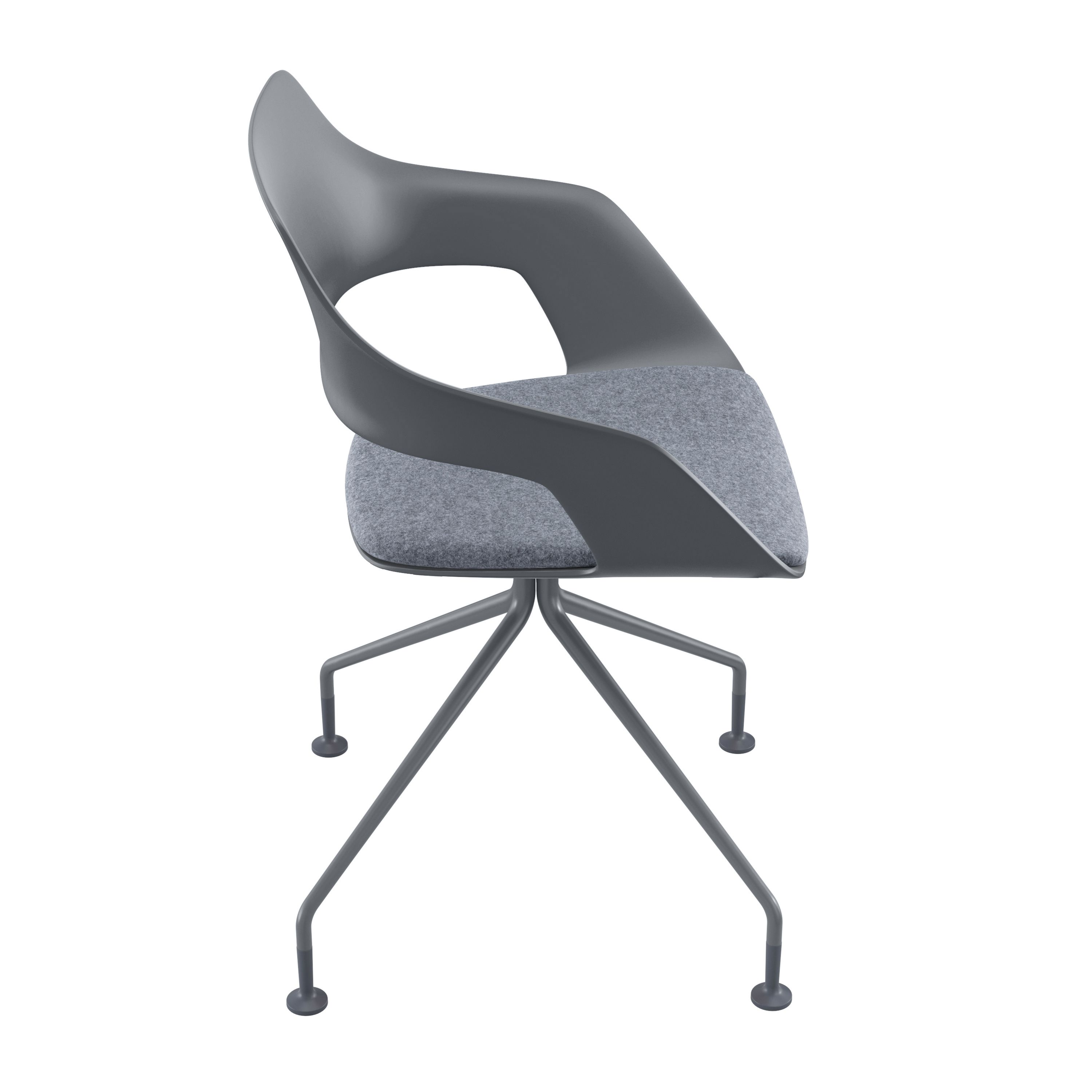 Occo Chair | star base swivel mounted | Desing by jehs+laub ...