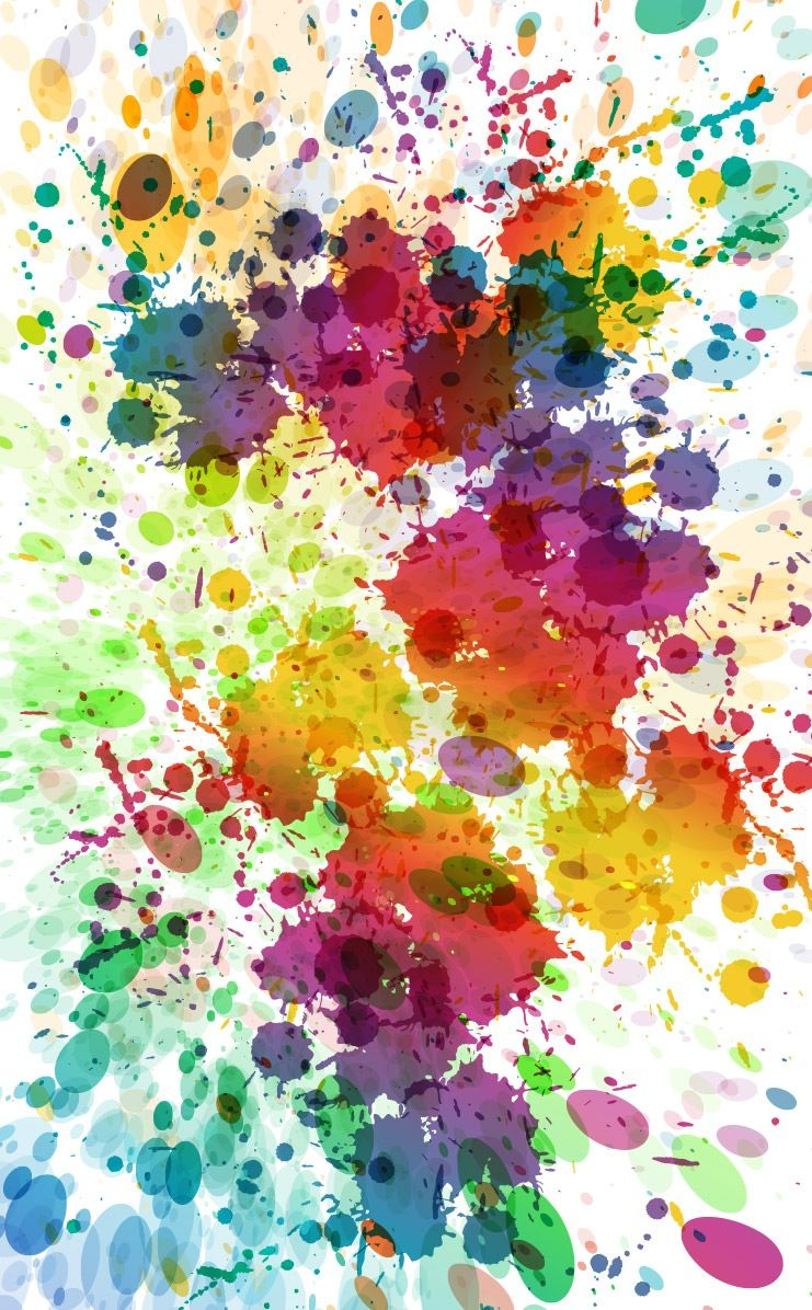 Splash Watercolor Painting Wallpaper Watercolor Splash