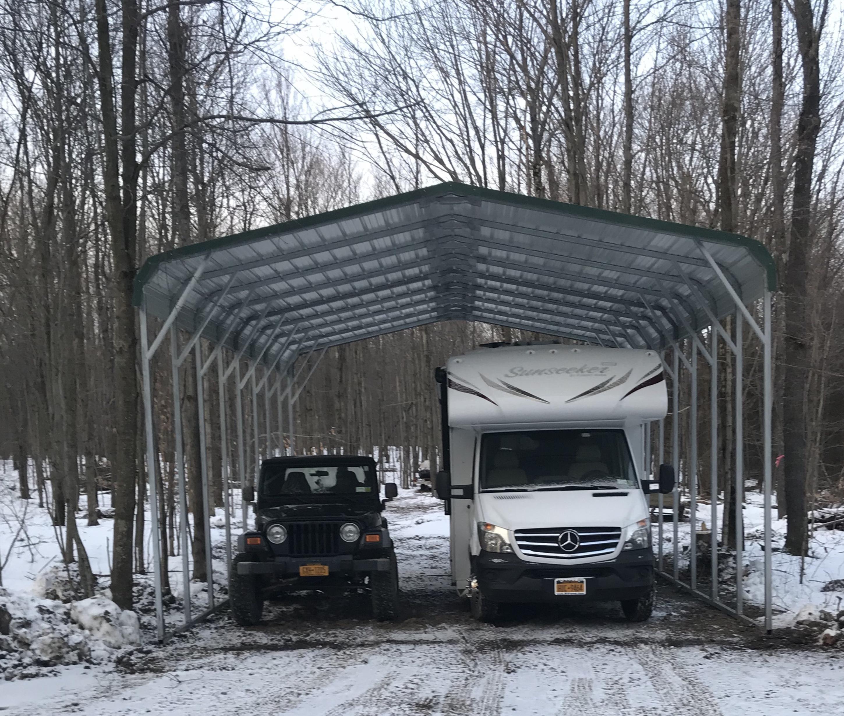 20x31 regular metal carport Alan's Factory Outlet