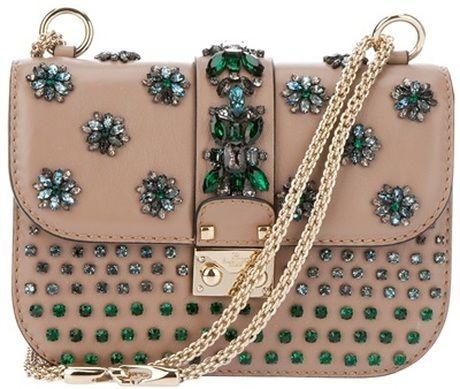 Jewel Embellished Clutch, VALENTINO