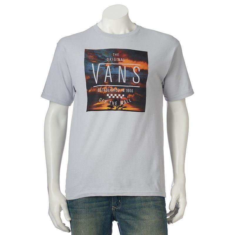 Men's Vans Sunners Tee, Size: Medium, Silver