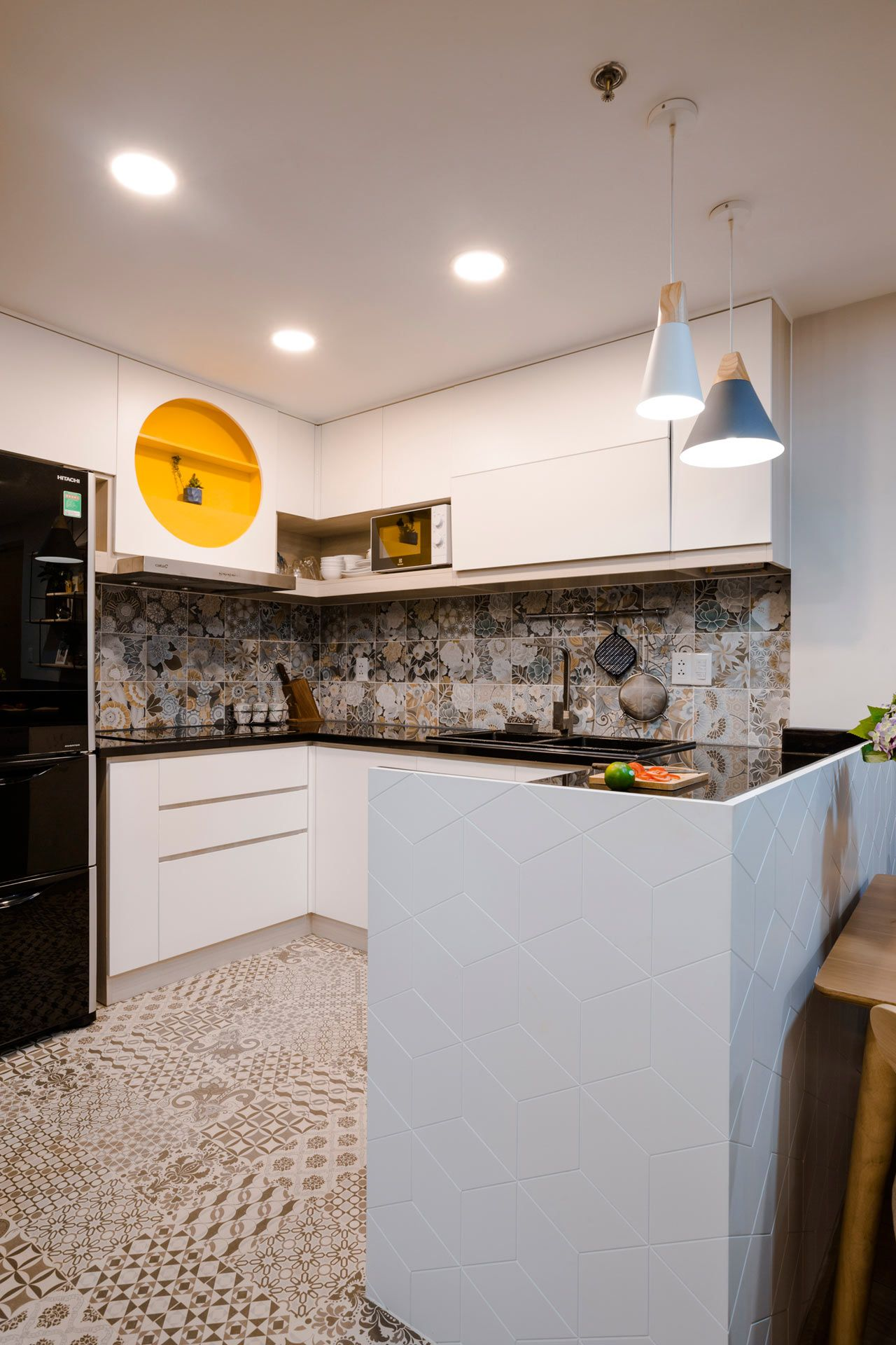 Toki Home Transforms an Apartment in Vietnam with Color ...