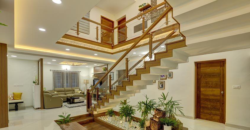 Fusion Home Palluruthy Stair House Styles House Modern Pergola Designs