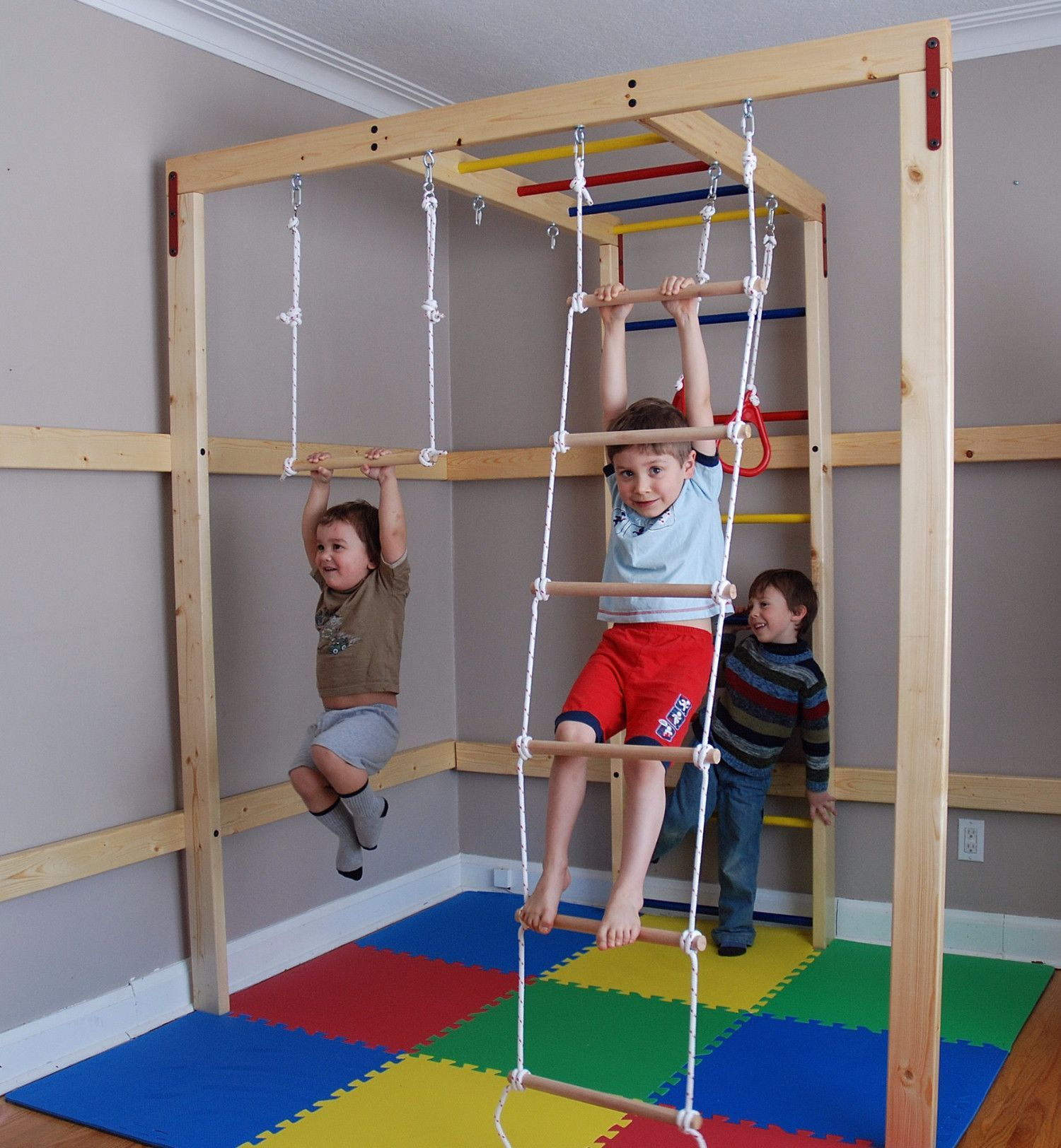 Indoor Jungle Gym can convert space in your house into a custom