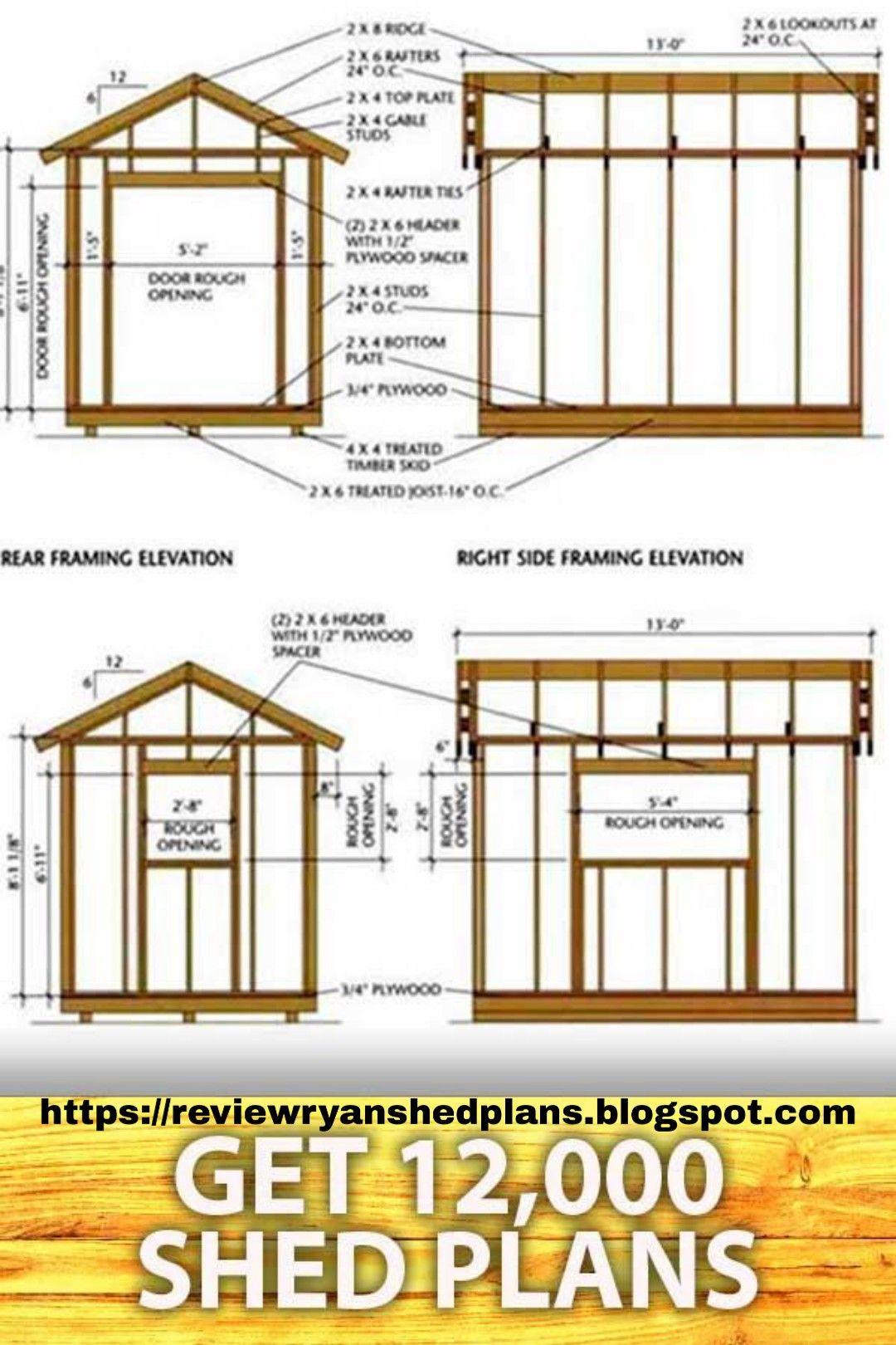 Wooden Garden Sheds In 2020 Shed Plans Shed Building Plans Garden Shed Diy