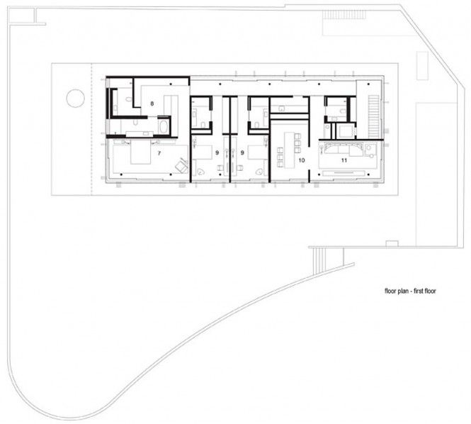 Modern home plan Modern Home Pinterest Toblerone Modern and