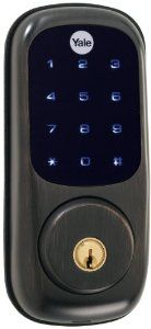 Yale Yrd220 Nr Orb Real Living Electronic Touch Screen Deadbolt Lock Oil Rubbed Bronze By Yale 199 99 Am Oil Rubbed Bronze Deadbolt Deadbolt Lock