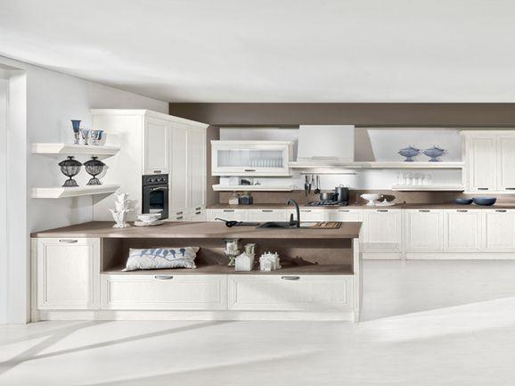 Cucina tra il classico e il moderno. | ArredissimA Cucine ...