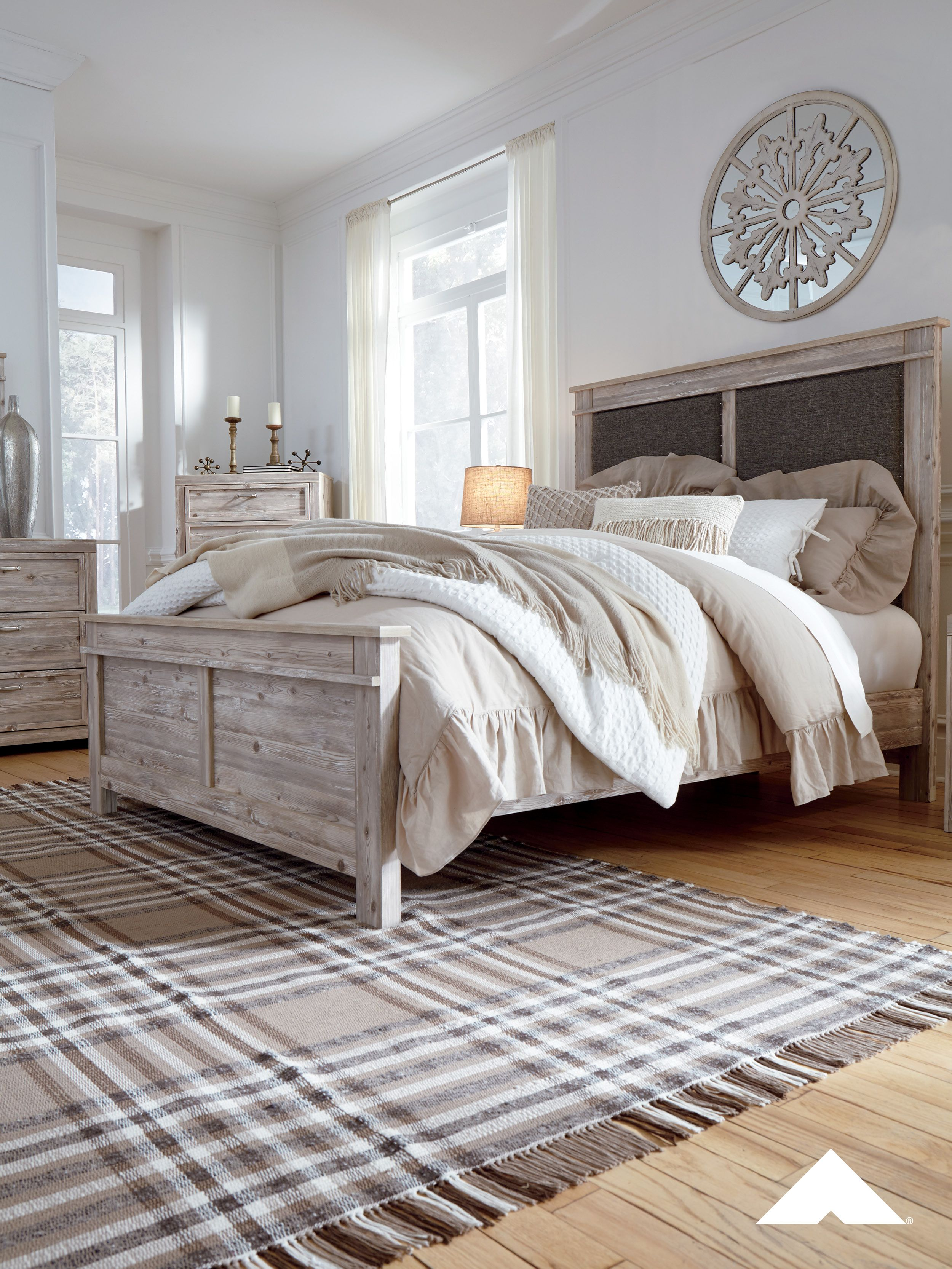 Willabry Bedroom Set By Ashley Furniture Worn Through Paint
