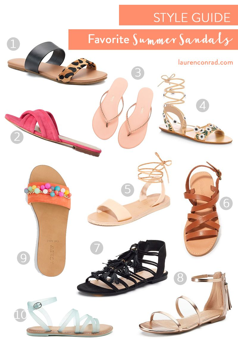 73a481e8ef92 The sweetest summer sandals on LaurenConrad.com