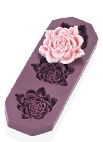 Foremka Silikonowa Do Dekoracji W Ksztalcie Roz S Floral Rings Decor Floral