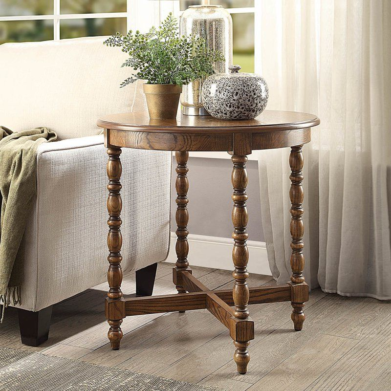 Edler End Table In 2020 Living Room End Tables Side Table Decor Rustic Side Table